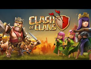 Clash of Clans King and Queen
